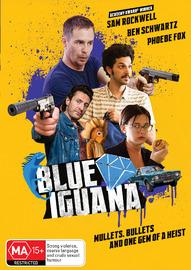 Blue Iguana on DVD