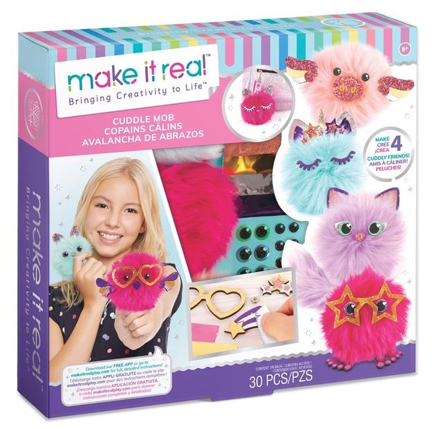 Make It Real: Fabric Craft Kit - Cuddlemob