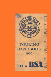 National Cyclists' Union Touring Handbook 1937 image