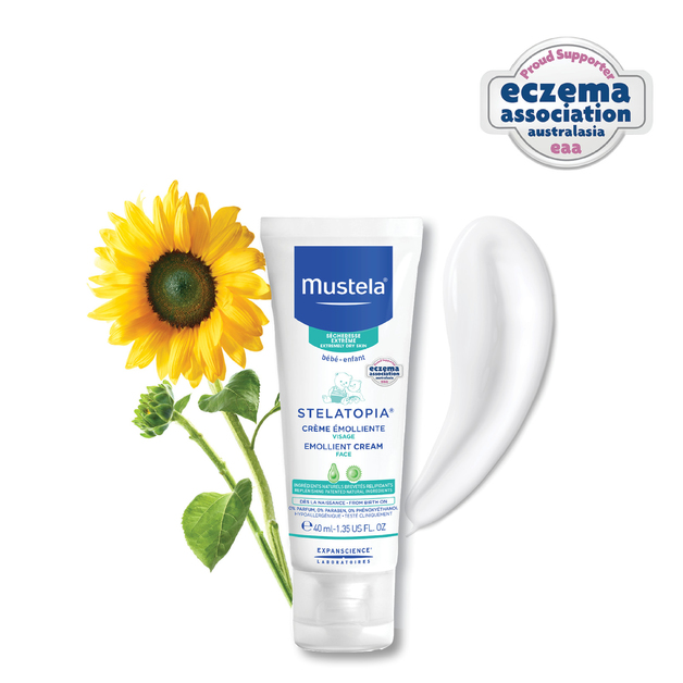 Mustela: Stelatopia Emollient Face Cream - 40ml