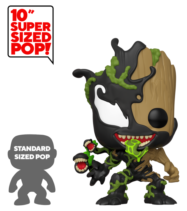 "Marvel: Venomized Baby Groot 10"" Super Sized Pop! Vinyl Figure"