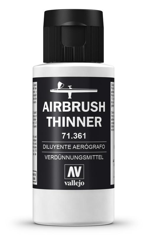 Vallejo: Airbrush Thinner (60ml)