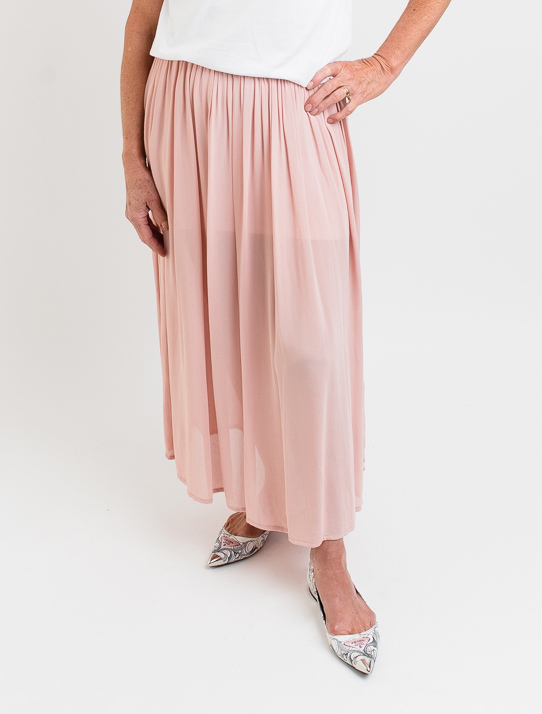 Dressed: 3/4 Blush Skirt - L