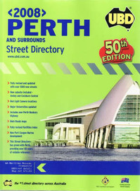 Perth Street Directory: 2008 image