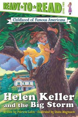 Helen Keller and the Big Storm by Patricia Lakin image