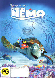 Finding Nemo on DVD image