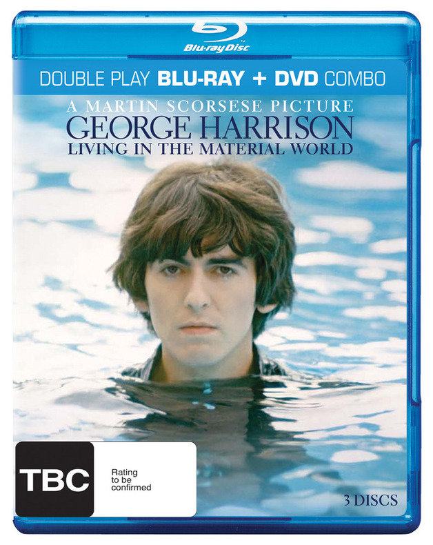 George Harrison: Living in the Material World - Double Play: Blu-ray + DVD (3 Disc Set) DVD