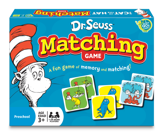 Dr Seuss - Matching Game