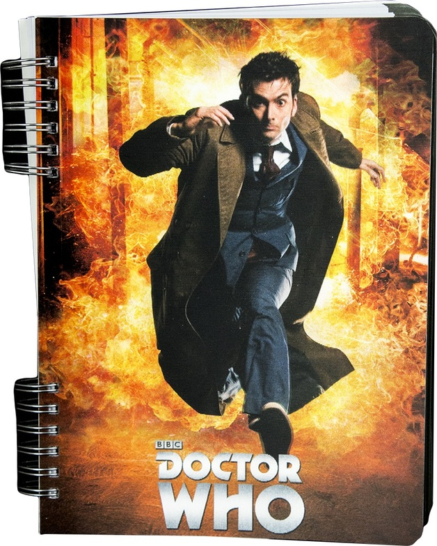 Doctor Who 10th Doctor Lenticular Journal