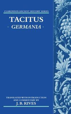 Tacitus: Germania by Cornelius Tacitus
