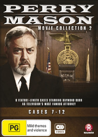 Perry Mason Movie Collection Two: Cases 7-12 on DVD