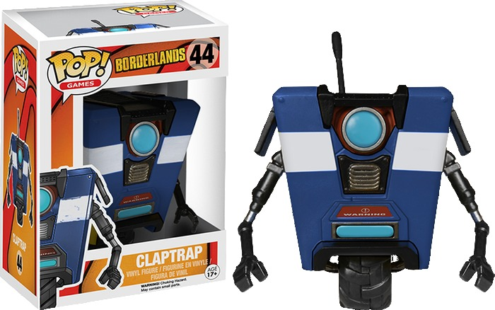 Borderlands - Blue Claptrap Pop! Vinyl Figure image