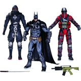 Batman: Arkham Knight - Action Figure 3-Pack