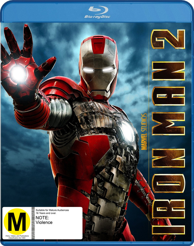 Iron Man 2 on Blu-ray