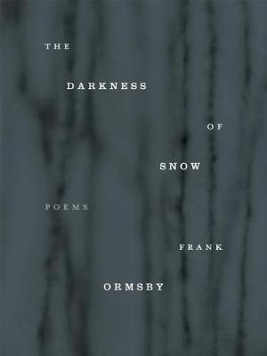 The Darkness of Snow by Frank Ormsby image
