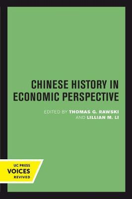 Chinese History in Economic Perspective