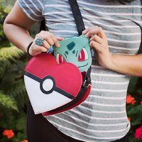 Loungefly: Pokemon Pokeball Shoulder Bag