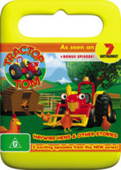 Tractor Tom - Haywire Hens And Other Stories on DVD