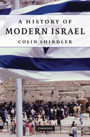 A History of Modern Israel by Colin Shindler image