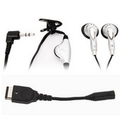 Joytech Earphones & Earphone Adapter for Nintendo DS