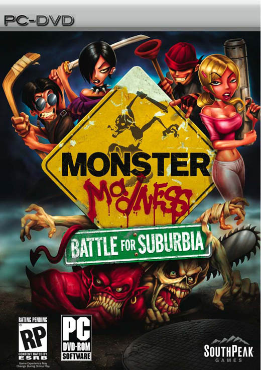 Monster Madness: Battle For Suburbia for PC Games
