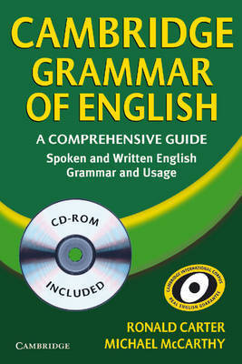 Cambridge Grammar of English Paperback with CD ROM: A Comprehensive Guide by Michael McCarthy