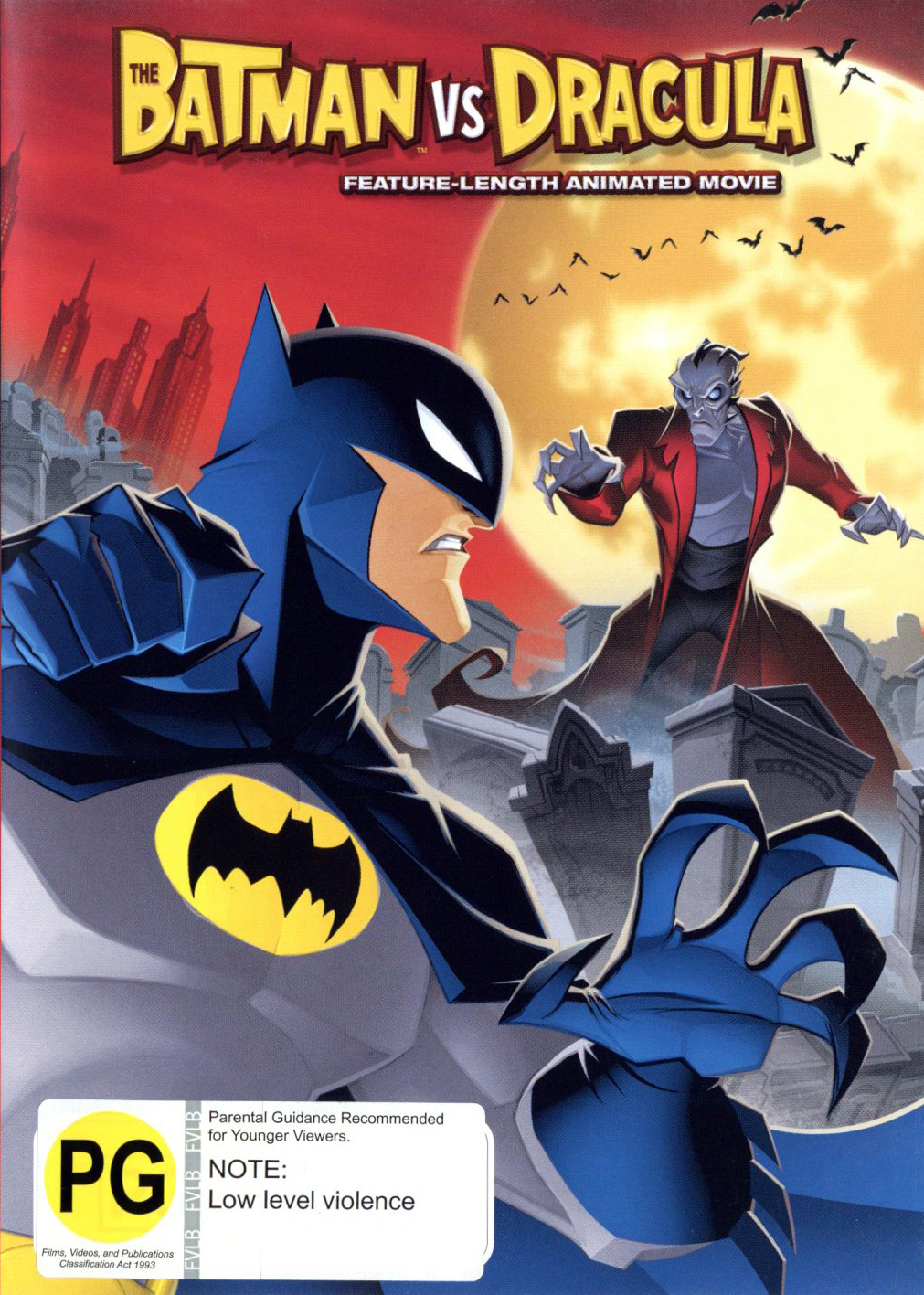Batman Vs Dracula on DVD image