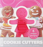 Tovolo - Ginger Girls Cookie Cutter Set