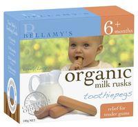 Bellamy's - Organic Toothiepegs (100gm)