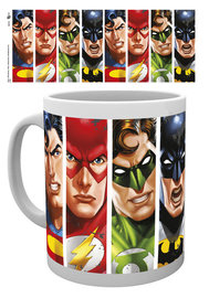 Justice League Faces Mug