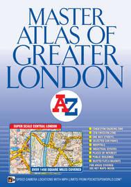 London Master Atlas by Geographers A-Z Map Company
