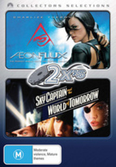 2x's - Aeon Flux / Sky Captain And The World Of Tomorrow (Collectors Selections) (2 Disc Set) on DVD