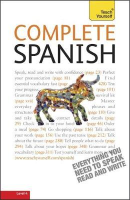 Complete Spanish (Learn Spanish with Teach Yourself) by Juan Kattan Ibarra image