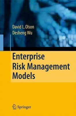 Enterprise Risk Management Models by David L. Olson image