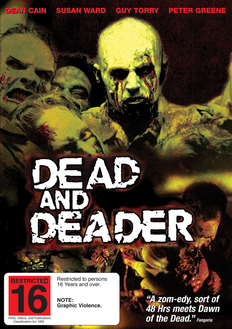 Dead and Deader on DVD image