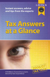 Tax Answers at a Glance by Pat Joseph