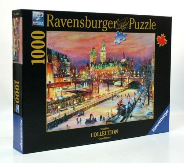 Ravensburger : Ottawa Winterlude Fest Puz (1000 Pcs)
