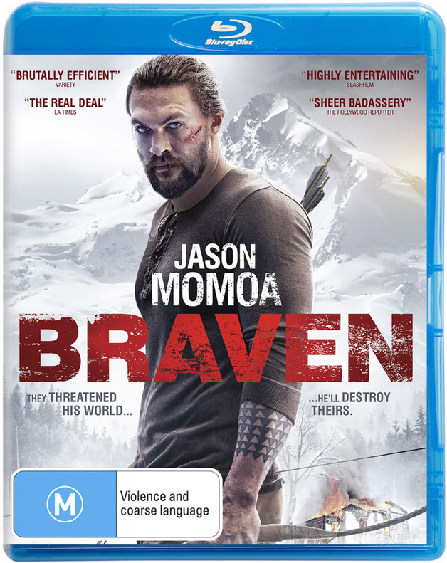 Braven on Blu-ray