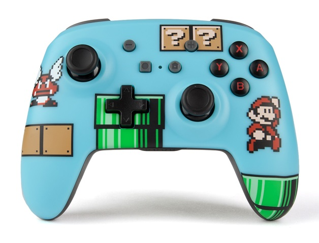 Nintendo Switch Wireless Controller - 8 Bit Mario Blue for Switch