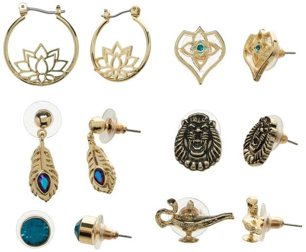 Disney: Aladdin - Earring Set (6 Pack)