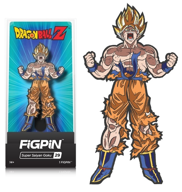 Dragon Ball Z: SS Goku (#29) - Collectors FIGPiN