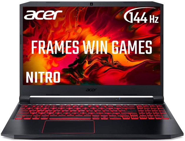 """15.6"""" Acer Nitro 5 R7 16GB GTX 1650 Ti 512GB 144Hz Gaming Laptop"""
