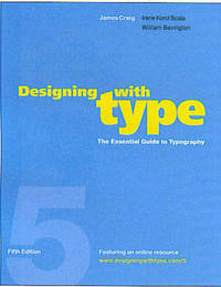 Designing With Type, 5Th Edition by James Craig image