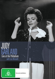 Judy Garland - Live at the London Palladium with Liza Minnelli on DVD