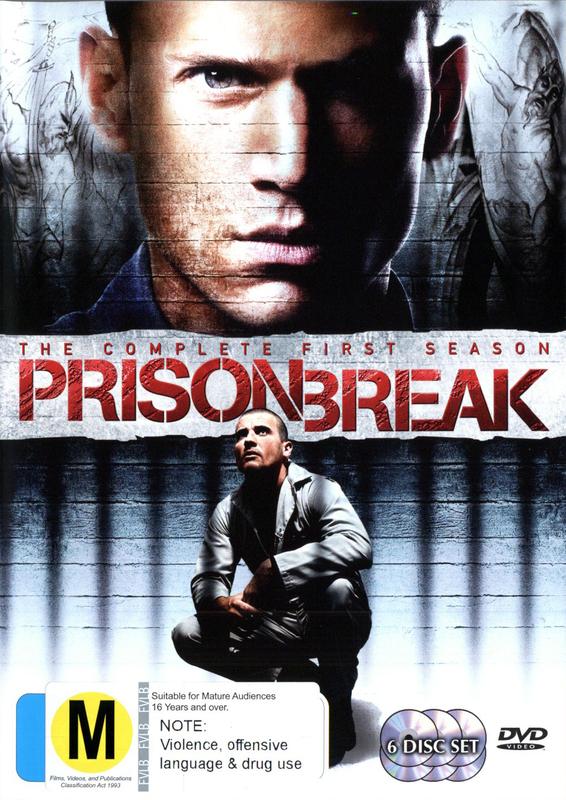 Prison Break - Complete Season 1 on DVD