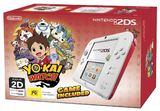 Nintendo 2DS White/Red Yo-Kai Watch Bundle for Nintendo 3DS