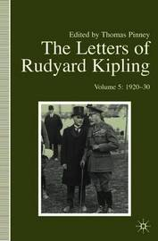 The Letters of Rudyard Kipling image