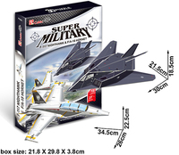 3D Military - Nighthawk & Hornet