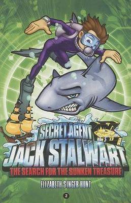 Secret Agent Jack Stalwart by Elizabeth Singer Hunt image