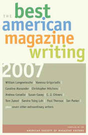 The Best American Magazine Writing 2007 image